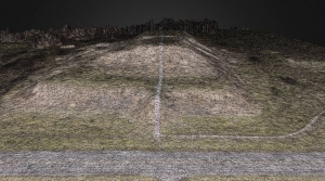 Drones - Monk's Mound Wireframe