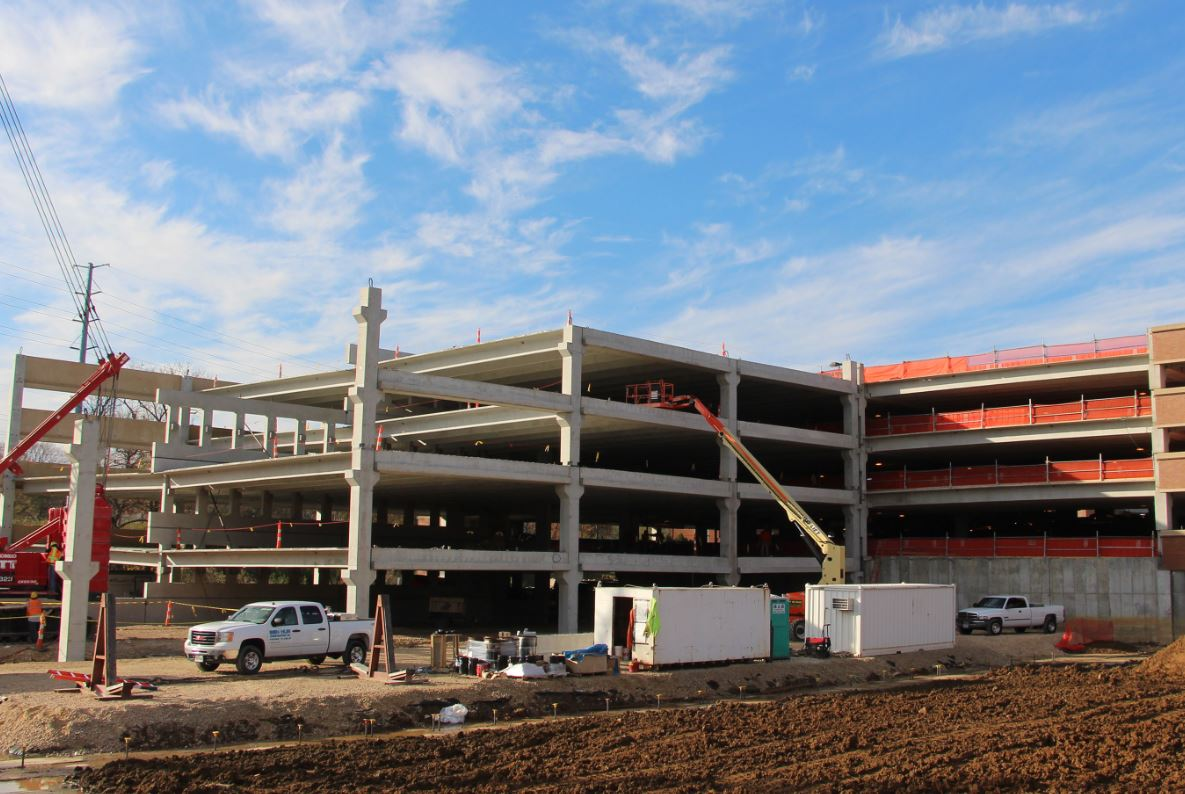 Tarlton corp manages webster university parking garage for Cost to build a garage st louis
