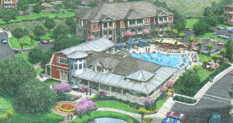 $35 million, luxury, southern craftsman apartments planned for