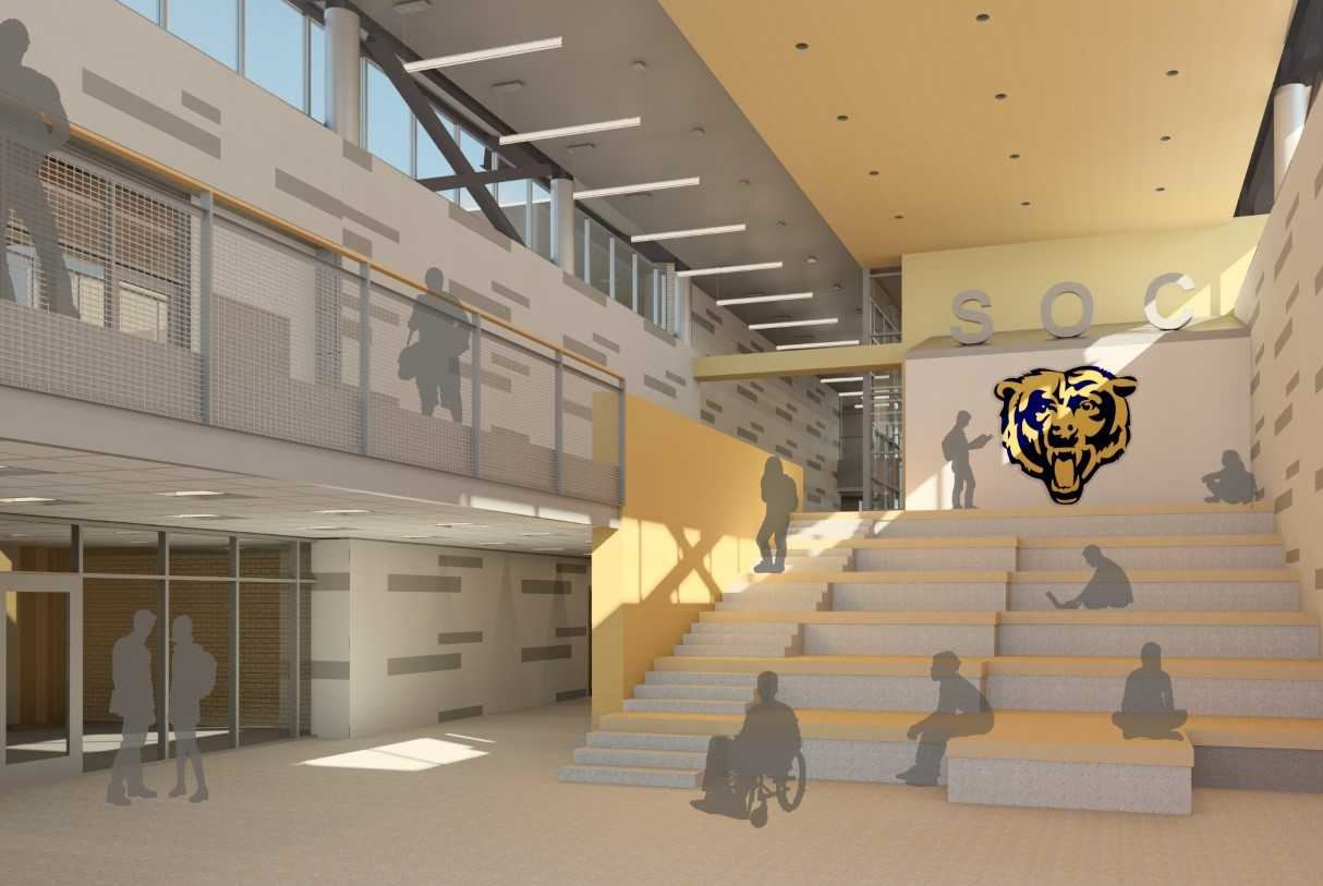 KAI Selected Architect For Extensive Renovations Additions To South Oak Cliff High School In Dallas TX