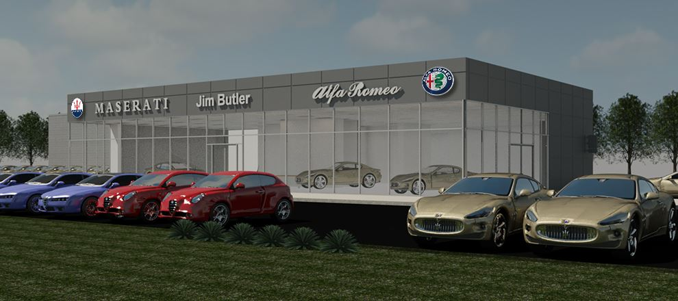 Alfa Romeo Maserati Development Building