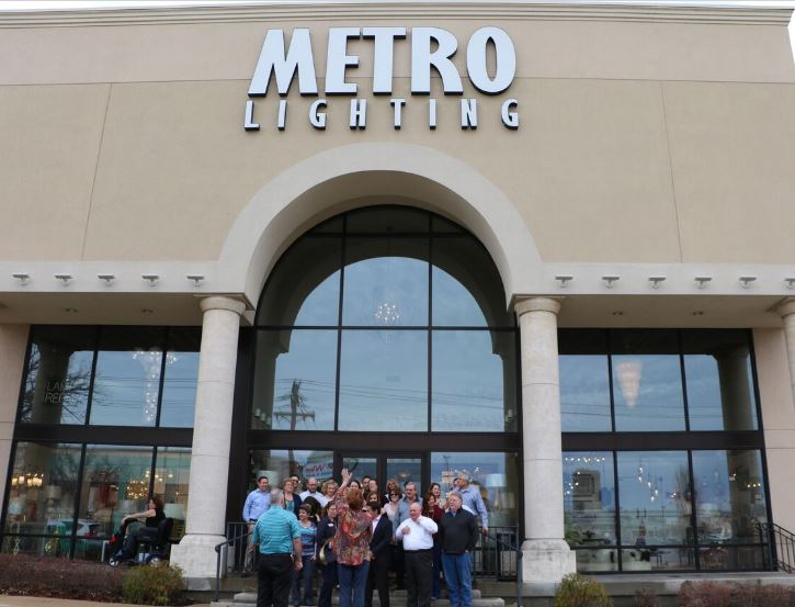 Chamber Of Commerce Ribbon Cutting Ceremony For Metro Lighting