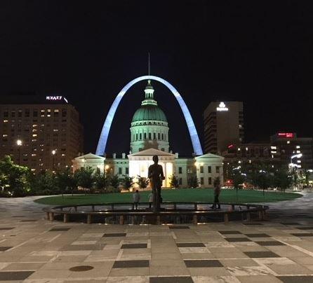 New Lighting Illuminates The Gateway Arch St Louis
